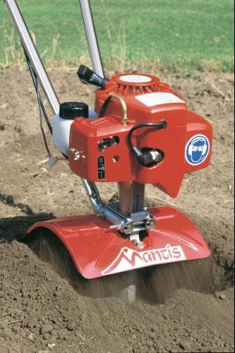"Mantis 4 Cycle 9"" Tiller/Cultivator powered By Honda"