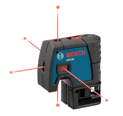 Bosch 5 Point Electronic Self Leveling Alignment Laser t