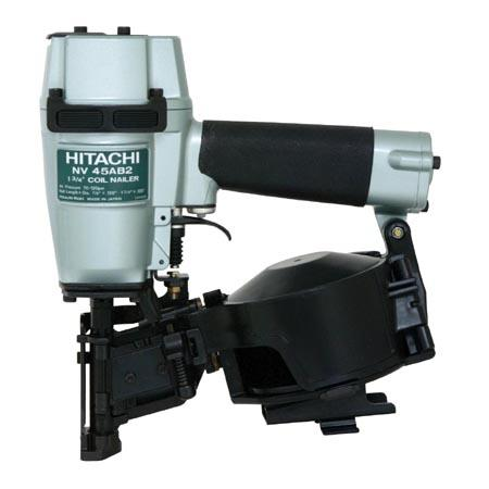 """Hitachi NV45AB2(H) 7/8"""" -1-3/4"""" Roofing Nailer Power Pack Equip"""