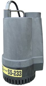 """Multiquip SS233 1/2 hp Submersible Pump 2""""120V 60 GPM"""