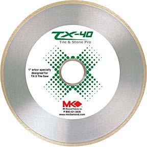 """MK 166968 TX-40 10""""X.060""""X1 TILE BLADE"""