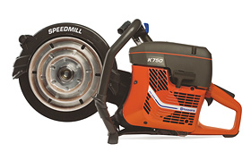 """Husqvarna K750 Speedmill 4""""/6""""/8"""" Bevel Bowls"""