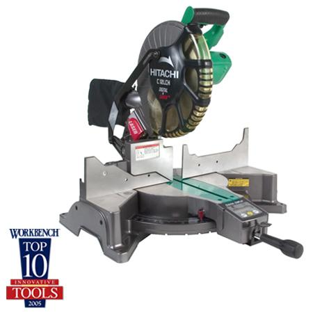 """Hitachi C12LCH 12"""" Compound Miter Saw with LCD Display & Laser M"""
