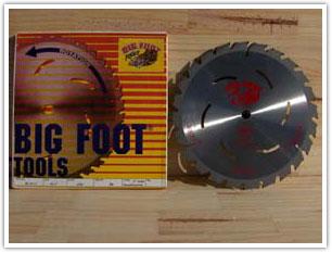 "Big Foot 10-25-36 Tooth Blade 10-1/4"""