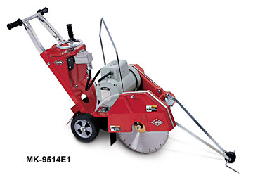 "MK Diamond 9514E3 7.5HP 14"" Con Saw W230/460V 3Phase Baldor"