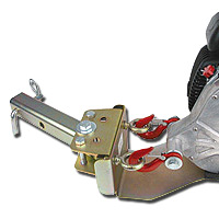 Portable Capstan Winch Receiver Hitch