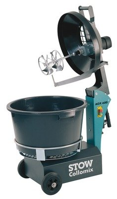 Stow Collomix AOX600 Rotating Bucket Mixer 17 Gal 110V