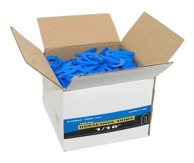SHIMS 1/16 Thick Blue SmallBox 400 Count
