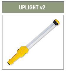 E712505 Defender Uplight v2, 18w Fluorescent