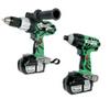 Hitachi KC18DCL Hammer Drill & Impact Driver Combo Kit