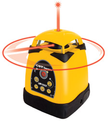 CST/berger LM1000X Exteior TriCase Pac Horizl/Vert Rotary Laser