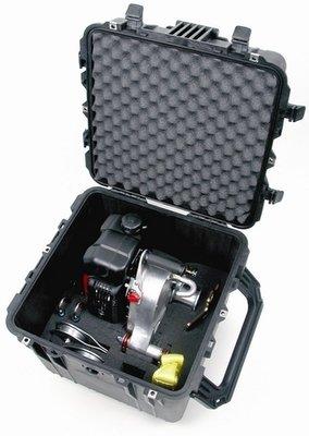 Padded waterproof case