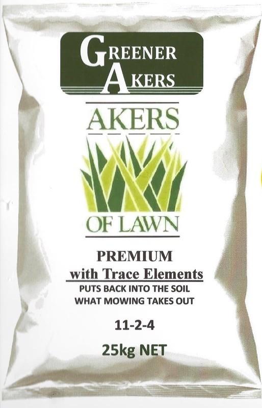 Akers of Lawn Premium Fertiliser 25kg