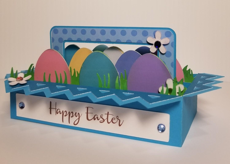 EASTER Egg Carton POP OPEN Box Card