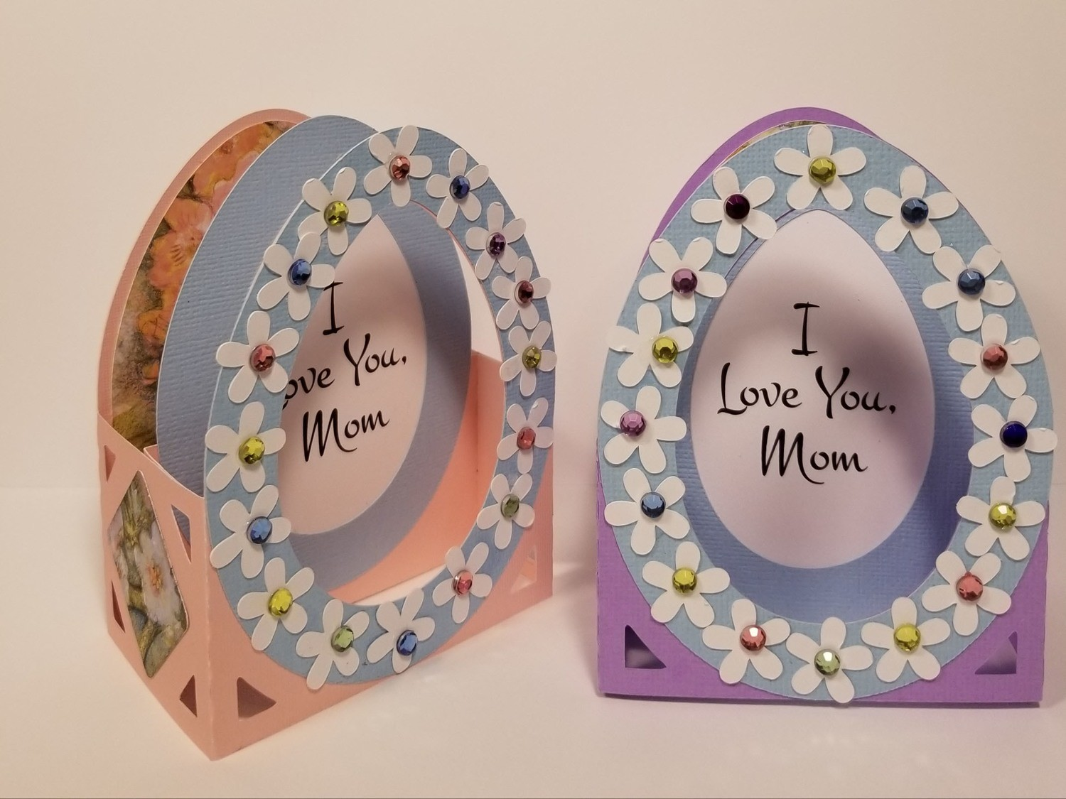 I LOVE YOU MOM Pop-Open Card