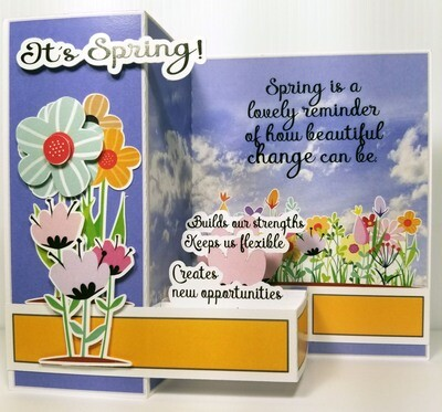 It's Spring - Inspiration card