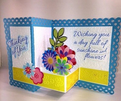 Birthday card - Thinking of YOU
