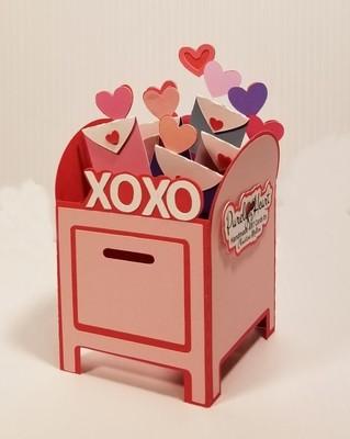 3D Valentine Mailbox