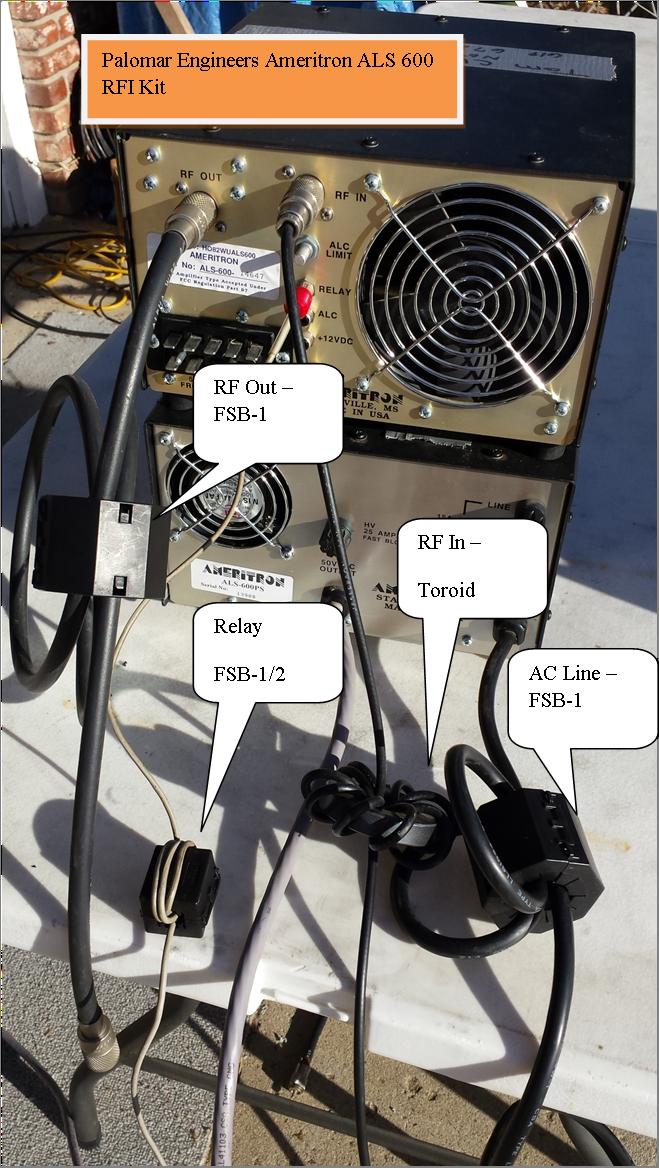 1199658030 - HF Amplifier RFI Kits