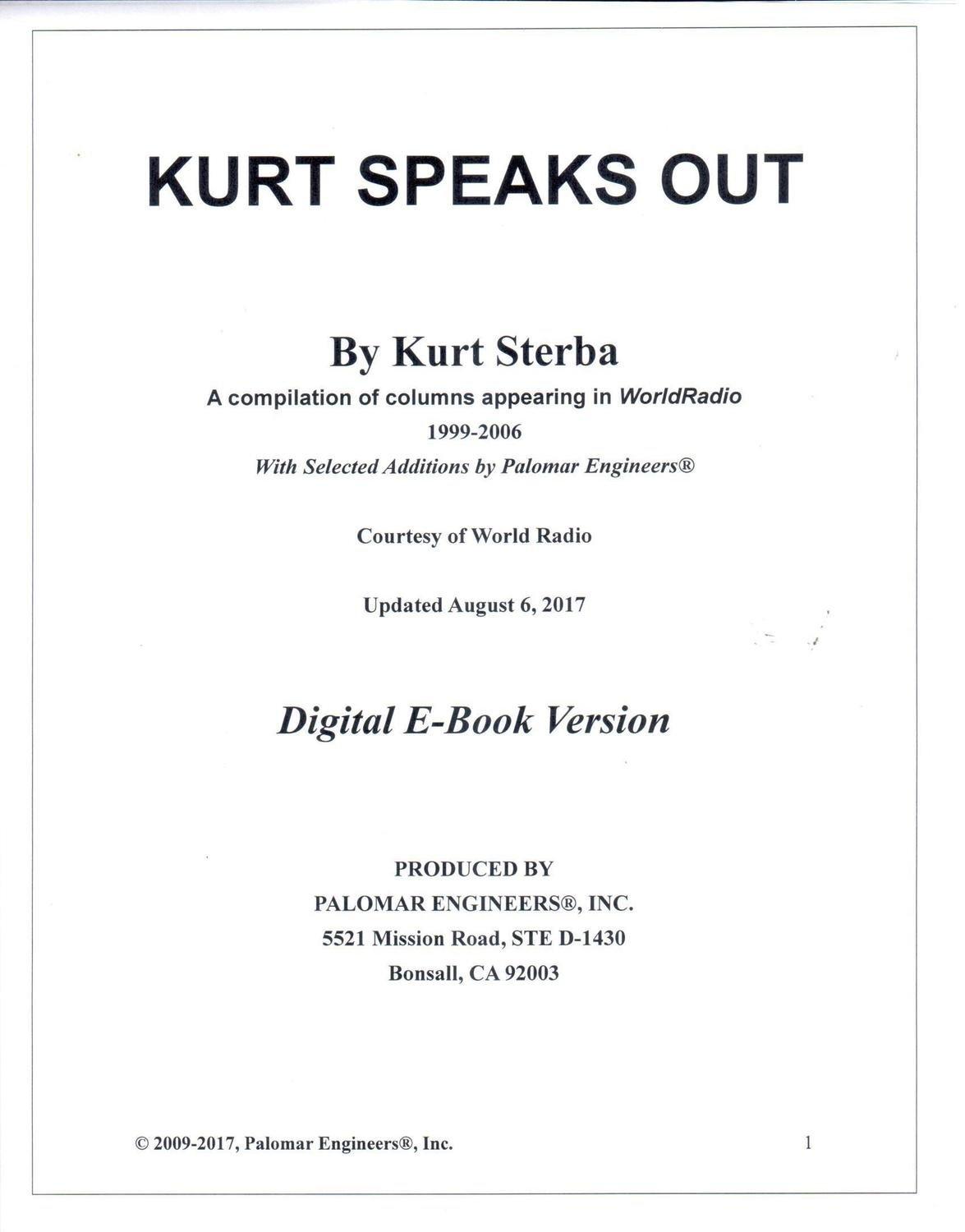 546954694 - Kurt Sterba's Korner