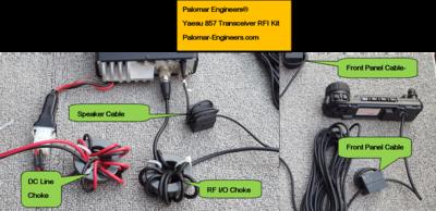 Yaesu 817/857/881/891/897 Transceiver RFI Kit - 5 Noise Reduction Filters