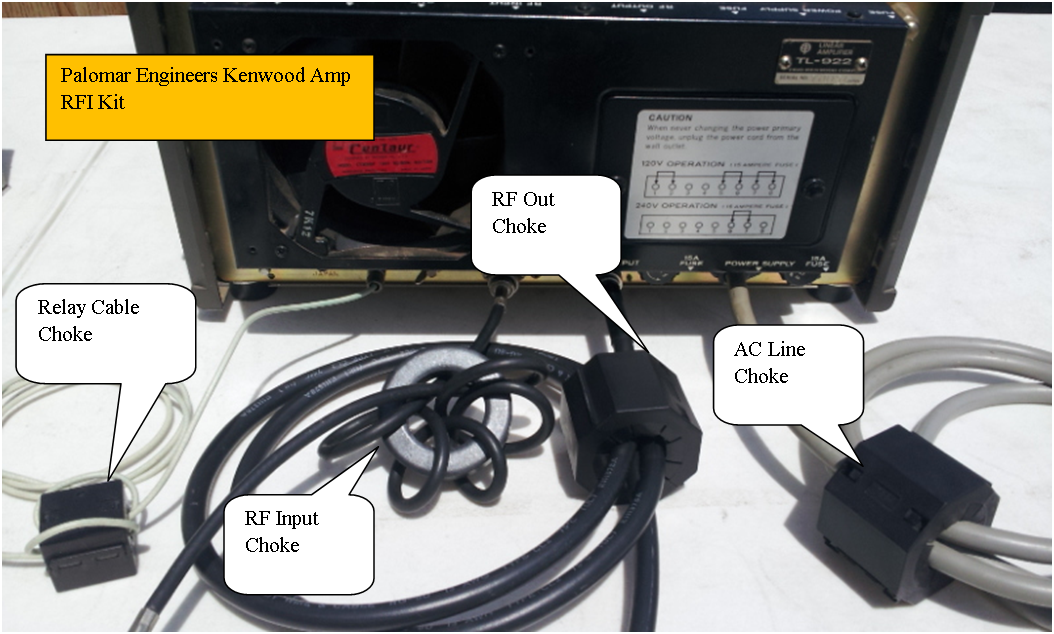 982808216 - HF Amplifier RFI Kits