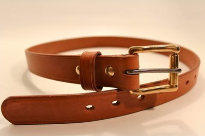 Graber  English Bridle Leather Belt