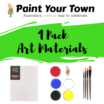 Art Materials - 1 Pack