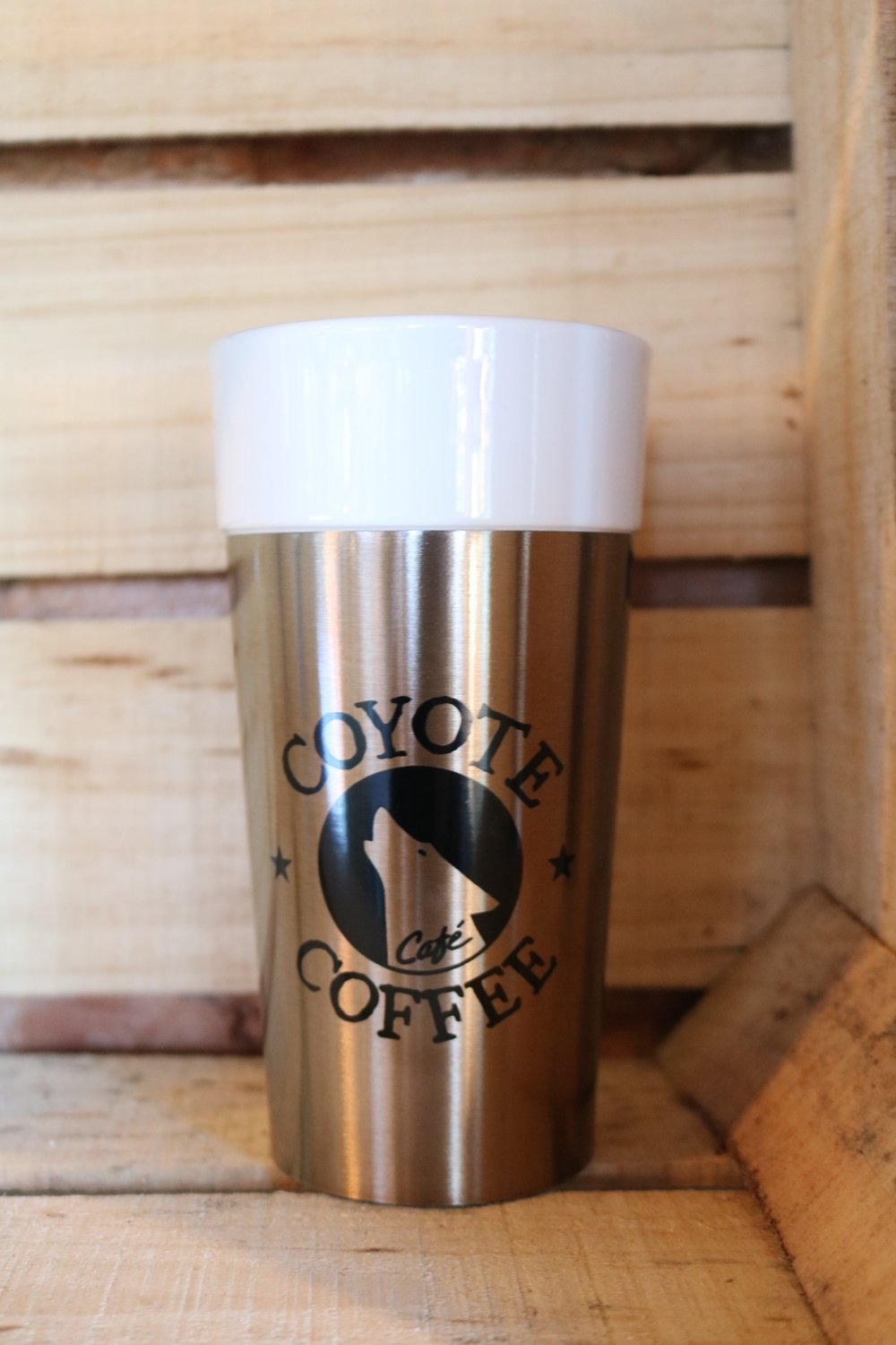 Coyote Coffee Rose Gold Porcelain Tumbler