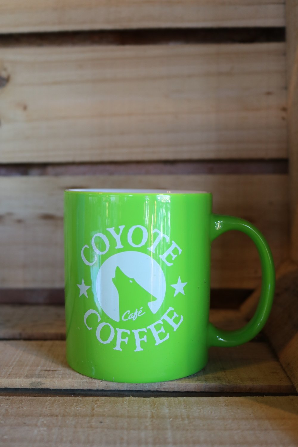 Coyote Coffee Green Coffee Mug