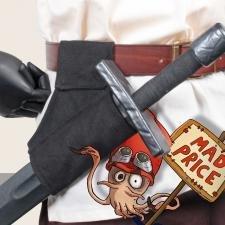 Schwerthalter schwarz