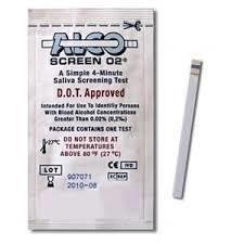 AlcoScreen Saliva Alcohol Test Alco-Screen