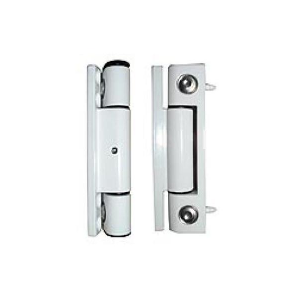 Fab fix hinge for upvc doors white dhswh00 for Upvc door hinges