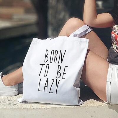 Эко сумка Market Born to be lazy KOTM_19I011