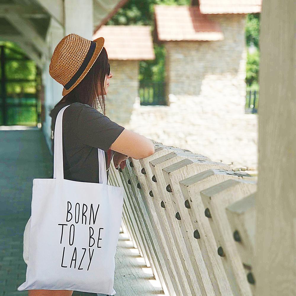 Эко сумка Market Born to be lazy