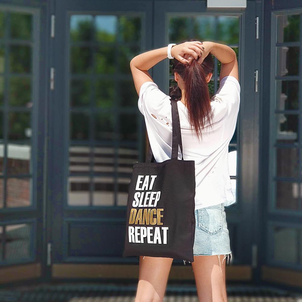 Эко сумка Market Eat Sleep Dance Repeat