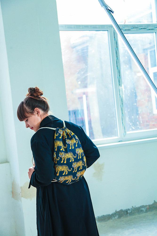Рюкзак-мешок Тигры