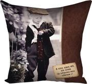 Подушка с принтом 40х40 см Любовь - это находить друг в друге собственное счастье...