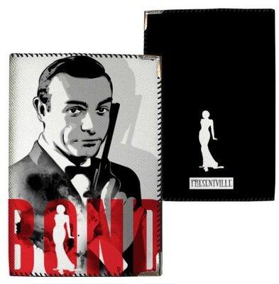 Обложка на паспорт Bond PD_MEN_CH044