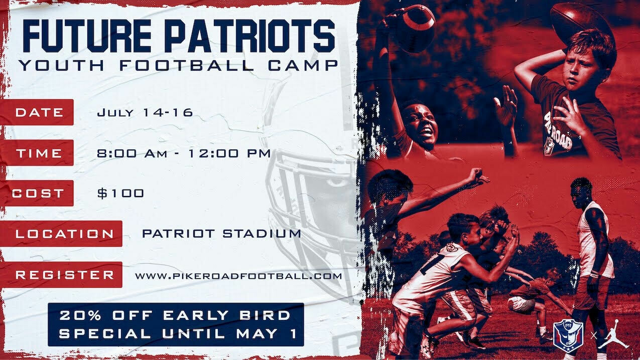 2020 Pike Road Youth Football Camp