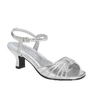 Talia Silver Metallic
