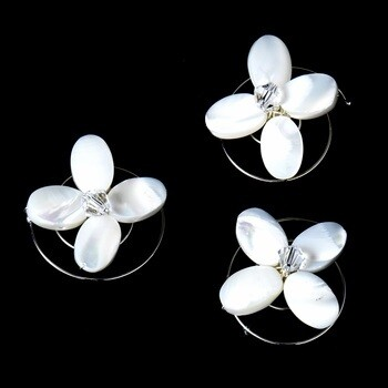 Chic Mother of Pearl Flower