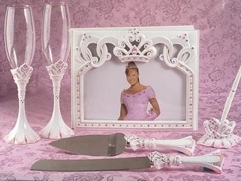 Princess Guest Book Set