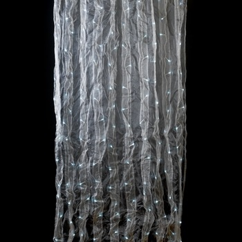 White Organza Curtain