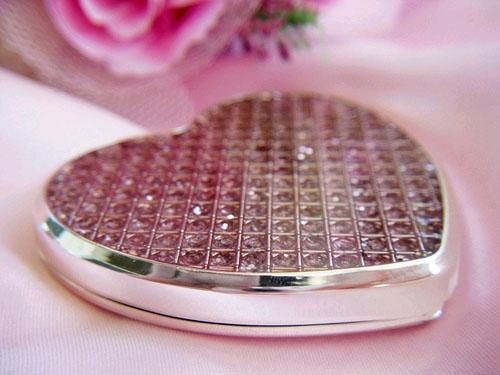 Glitter Pink Compact