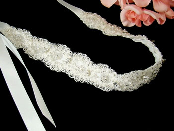 LACE RIBBON HEADBAND