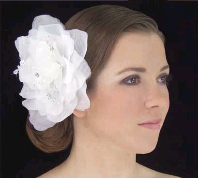 ORGANZA HAIR FLOWER