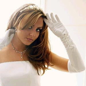 FULL FINGER GLOVES  BY WEDDING FACTORY DIRECT