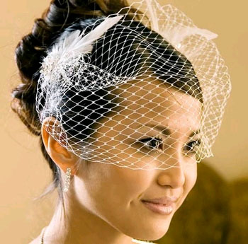 RUSSIAN CAGE VEIL  BY WEDDING FACTORY DIRECT