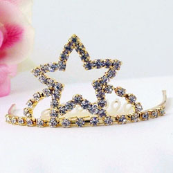 GOLD STAR TIARA